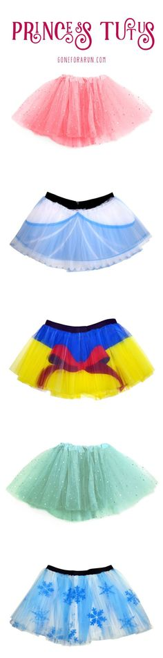 Here at Gone For a Run we have many different types of tutus! From vibrant colors, to holiday themes and princess designs, you'll be sure to find your favorite!