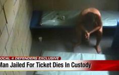 Θάνατος 32χρονου σε φυλακή των ΗΠΑ. Έχασε 22 κιλά, πέθανε γυμνός στο κελί του και οι αστυνομικοί τον έβλεπαν από τις κάμερες