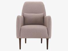 DABORN MULTI-COLOURED Fabric Patterned fabric armchair - HabitatUK