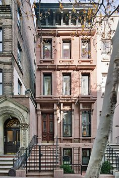 Manhattan, NYC single family brownstone built in the 1860's.  Rent-Direct.com -