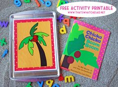 Chicka Chicka Boom Boom FREE Printable Activity from thatswhatchesaid.net