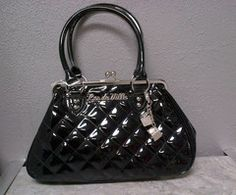 Sin City Kiss Lock Sin City, Lady Dior, Kiss, Accessories, Collection, Women, Fashion, Moda, Women's