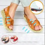 women shoes ONLY FOR YOU 331267 - NEWCHIC Mobile Gladiator Sandals, Wedge Sandals, Chic Outfits, Summer Outfits, Peep Toe Wedges, Sandals For Sale, Comfortable Sandals, Back Strap, Top Shoes