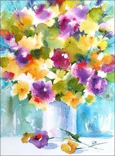 Watercolor by Maria Stezhko