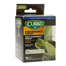 Curad Performance SeriesSelf Adherent Wrap 3 inch x 5 yds (7.6 cm x 4.5 m) Green at Walgreens. Get free shipping at $35 and view promotions…