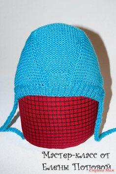ЧЕПЧИК ДЛЯ НОВОРОЖДЕННЫХ. - Вязание для детей - Страна Мам Knit Baby Dress, Online Diary, Baby Bonnets, Baby Booties, Baby Hats, Baby Knitting, Knitting Patterns, Crochet Hats, Baby Shower