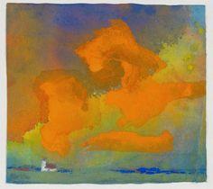 If you like, see also Emile Nolde part II      Hay Meadow     Wheat Field (ca 1900)      Light Sea Mood, 1901        Blaue Stimmun...