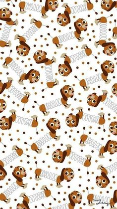 New wallpaper phone disney pattern toy story ideas Cartoon Wallpaper, Dog Wallpaper Iphone, Disney Phone Wallpaper, New Wallpaper, Pattern Wallpaper, Wallpaper Backgrounds, Iphone Backgrounds, Trendy Wallpaper, Fête Toy Story