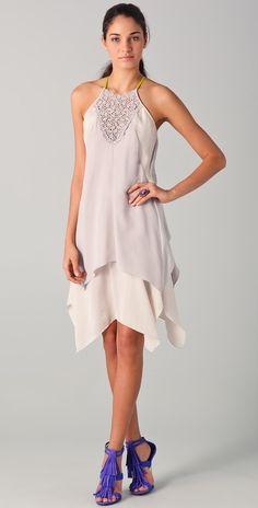 Rebecca Taylor Eyelet Slip Dress thestylecure.com
