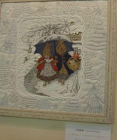 Le Tokyo Dome - CorinnePatch&Broderies Yoko Saito, Wool Quilts, Applique Quilts, Baby Quilts, Tokyo Dome, Quilt Festival, Beatrix Potter, Japanese Quilts, Peter Rabbit