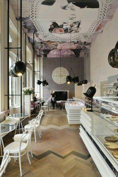 Lolita cafe in Liubliana by Trije Arhitekti