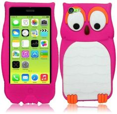 CY 3D Cartoon Cute Animal Design Silicone Skin Cover Case For iPhone Lite 5C (include a Free CYstore Stylus Pen) - Owl Pink CYstore,http://www.amazon.com/dp/B00FQZZ0F4/ref=cm_sw_r_pi_dp_VvCOsb070A98JHZP