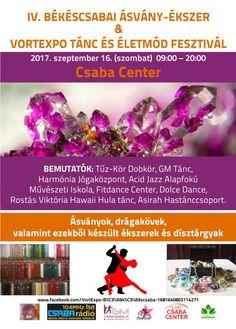 IV. Békéscsabai Ásvány-Ékszer & Vortexpo Tánc és Életmód Fesztivál – Békés Megyei Programok
