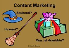 Bild zum Blogeintrag Was ist Content Marketing? Auf http://www.tipptrick.com/2014/07/02/claudias-praktischer-ratgeber-blogparade-content-marketing/