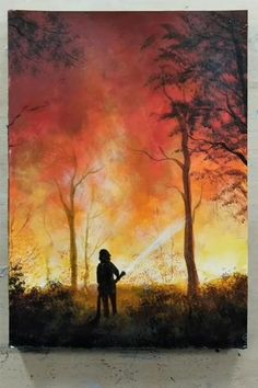 --Video Pin-- 20 Home Decor Painting Inspirations - Painting Tutorial Videos Easy Canvas Art, Small Canvas Art, Small Canvas Paintings, Canvas Draw, Easy Art, Scenery Paintings, Oil Pastel Paintings, Art Painting Gallery, Painting Art