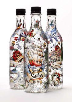 Vodka Bottles.