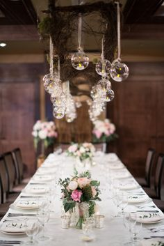 wedding reception idea; photo: Christie Graham Photography