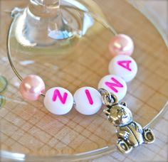 Christening / Baby Shower / Gender Reveal « Winky's Widgets | Wine Charms + Event Accessories