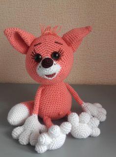 Crochet fox toy,  amigurumi fox,  gift for baby, stuffed fox toy by VIKcraft on Etsy
