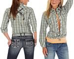 We love this top! And we love the price even more - select Wrangler marked down as low as $15! http://www.aqhastore.com/store/search.asp?keyword=wrangler%20sale