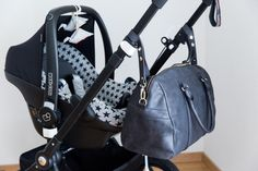 JOSEFINA bag attached to the stroller Stephanie Duval 70percent  www.josefina.fr