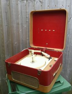 Bush vintage record player 1950s!! This is what I would love for Christmas!!!