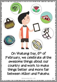 A story book for New Zealand years (aged that introduces and explains the Treaty of Waitangi and Waitangi Day in language young children can under Reading Groups, Guided Reading, Treaty Of Waitangi, Waitangi Day, Class Games, Mini Books, Early Childhood, The Book, New Zealand