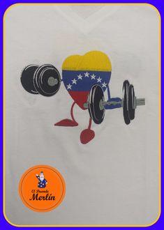 Fuerza Venezuela que si lo lograremos, paz y bien #bordados #duendemerlin #gym #ejercicios #franelabordada #franelapersonalizada #losteques #saa #sanantoniodelosaltos #altosmirandinos #carrizal #miranda #hechoenvenezuela #venezuela