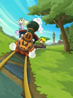 Spirit Tracks Legend of Zelda