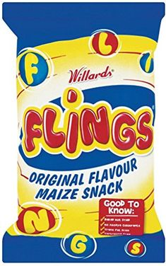 Shop for Willards Flings Original Flavour Maize - Imported From South Africa Chips. Starting from Compare live & historic grocery prices. South African Desserts, South African Recipes, African Love, Snack Recipes, Snacks, Tasty, Yummy Food, Pop Tarts, Food Videos