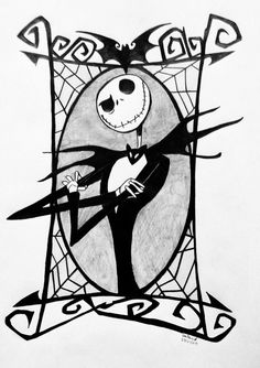 Mister Jack by Galaad-Phantom on DeviantArt Nightmare Before Christmas Pictures, Nightmare Before Christmas Tattoo, Jack Skellington Drawing, Mister Jack, Jack The Pumpkin King, Jack And Sally, Happy Halloween, Art Projects, Art Drawings