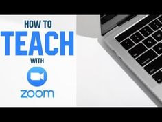 How To Teach Online Lessons With Zoom (For Beginners) Computer Lessons, Technology Lessons, Teaching Technology, Science Lessons, Teaching Science, Computer Lab, Technology Design, Student Teaching, Technology Logo