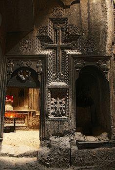 Khatchkar, armenian cross-stone.
