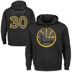 Stephen Curry Golden State Warriors Color Pop Player Hoodie - Black