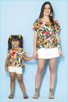 Mommy and Daughter outfit for girl moms who want to match their little girls. Mom And Baby Outfits, Mother Daughter Matching Outfits, Mother Daughter Fashion, Mom Daughter, Family Outfits, Kids Outfits, Mother Daughters, Baby Girl Fashion, Kids Fashion