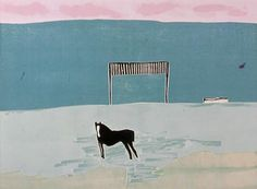 Tom Hammick- Horse in the Snow