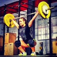 Just a little OHS  CrossFit for bad-ass chicks!  http://factumutah.com/crossfit