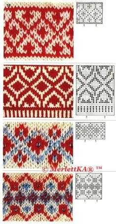 Мобильный LiveInternet Жаккарда много не бывает - для бисера, вязания, ткачества и точечной росписи | MerlettKA - © MerlettKA® ™ |