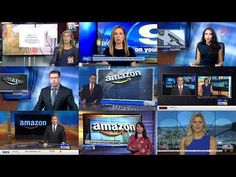11 Local TV Stations Pushed the Same Amazon-Scripted Segment - YouTube Tim Burke, Local Tv Stations, Dystopian Society, In Harm's Way, Nightly News, News Anchor, News Sites, Shows, Places