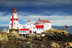Beautiful Lighthouses in America (PHOTOS) East Quoddy Lighthouse, Campobello Island, New Brunswick, Canada