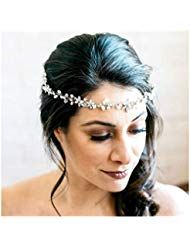 Fashion Jewelry Ingenious Haarreif Hell Blau Schmal Neu Fast Color