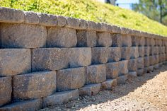 Get inspired by the Keystone Retaining Wall Systems photo gallery to spark your imagination with the standard for excellence in the segmental industry. Keystone Retaining Wall, Retaining Wall Blocks, Keystone Wall, Landscaping Software, Landscaping Contractors, Landscaping Retaining Walls, Landscape Walls, Outdoor Decor, Outdoor Ideas