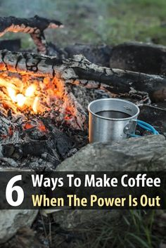 Coffee can be the one staple that adds a sense of normalcy in hard times. In case the power goes out, you'll need a way to feed your caffeine addiction.