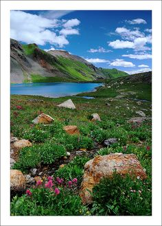 ✯ San Juan Mountains, near Ouray and Silverton, Colorado we have hiked for before moving to the east coast Road Trip To Colorado, Living In Colorado, Colorado Homes, Colorado Usa, Places Around The World, Oh The Places You'll Go, Great Places, Places To Travel, Around The Worlds