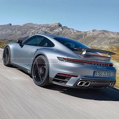 The new 992 version of the   911 Turbo is coming later this year (with over 600 HP) and I like it. Porsche Turbo S, Porsche 356, Hey Porsche, Porsche Models, Porsche Cars, Future Concept Cars, Mercedes Wallpaper, Ferdinand Porsche, Power Cars