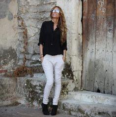 キチッと感なのに決めすぎないスウェットコーデ♪おすすめの40代アラフォー女性のスェットパンツコーデ