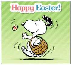 Snoopy ... Happy Easter