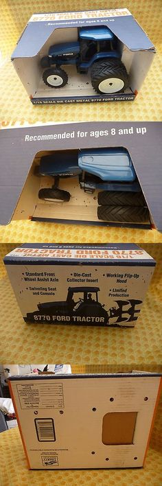 Contemporary Manufacture 156623: New Holland Ford 1 16Th Scale 8770 Tractor, Diecast, With Original Box. -> BUY IT NOW ONLY: $89.95 on eBay!