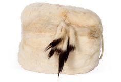 Rabbit Fur Muff