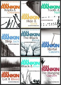 Great plots and sense of humour - Detective Inspector John Rebus crime novels